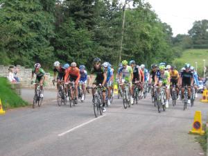 Tour of Britain reaches Hatherleigh, 2012