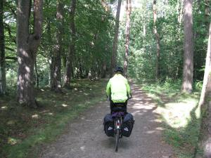 Michele on the Tarka Trail