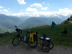 Col D'Aspin, Pyrenees: 2013