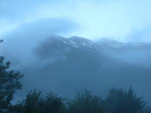 Dawn, Pyrenean style