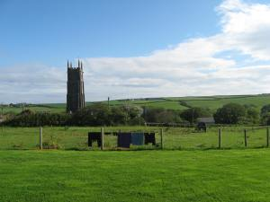 Churches make great reference points. You can often see them from miles away.
