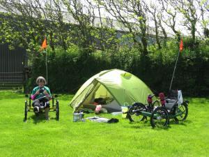 Camping a la ferme, Devon style :)