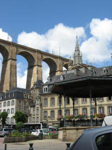Morlaix viaduct, Brittany, France