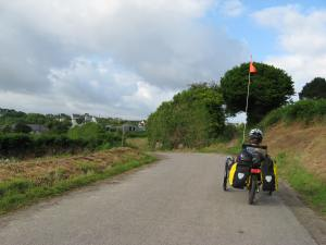 Exploring the lanes in Brittany, guided by our maps