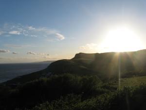 Sunset at Eype