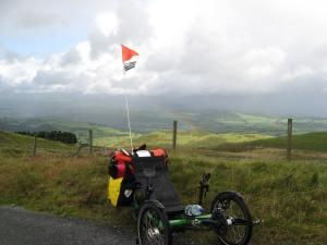 Rhiw Fawr: North Wales. The biggest climb on National Cycle Network 8: Lon Las Cymru.